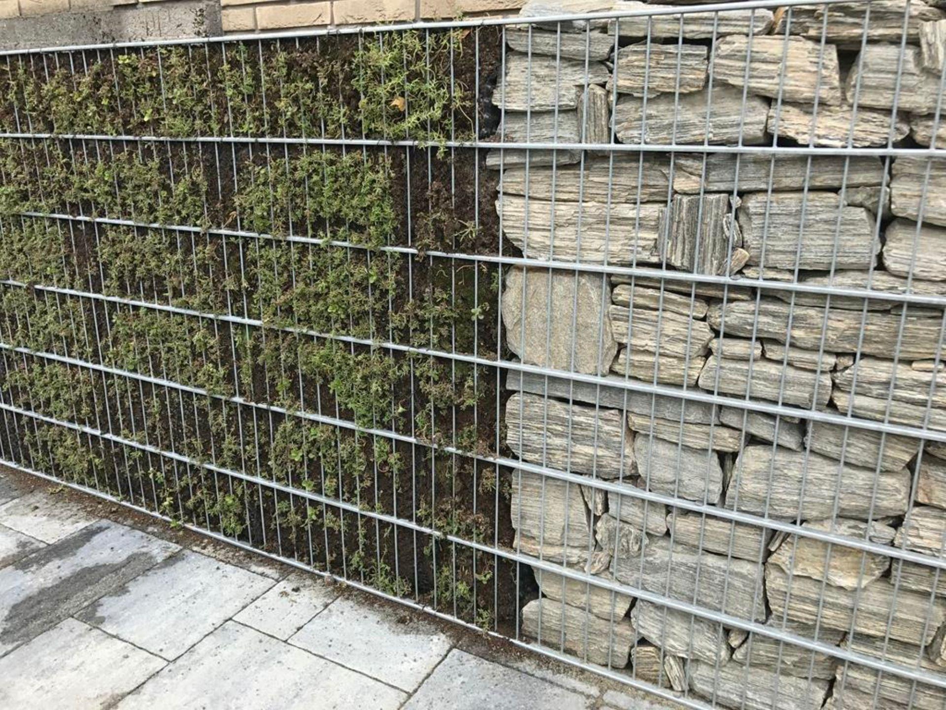 Dodatkowe Gabiony, nowoczesne ogrodzenia gabionowe montaż, cena, producent IV92